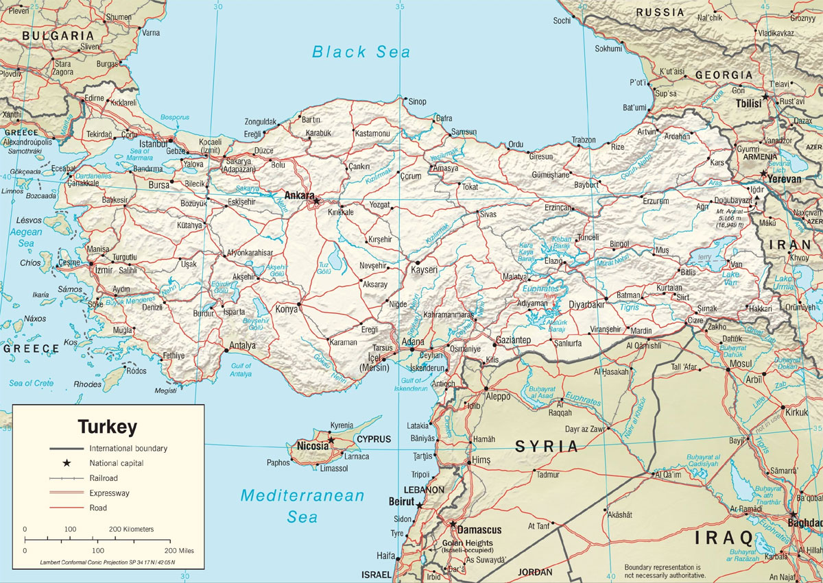 Picture of: Turkey And The Politics Of Water The Globalist