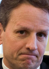 Treasury Secretary Tim Geithner (Credit: Pete Souza/White House)