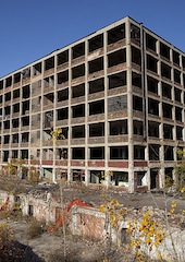 Former Packard Automotive Plant, Detroit MI. (Credit: Albert duce -
