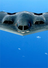B-2 stealth bomber. (Credit: U.S. Air Force)