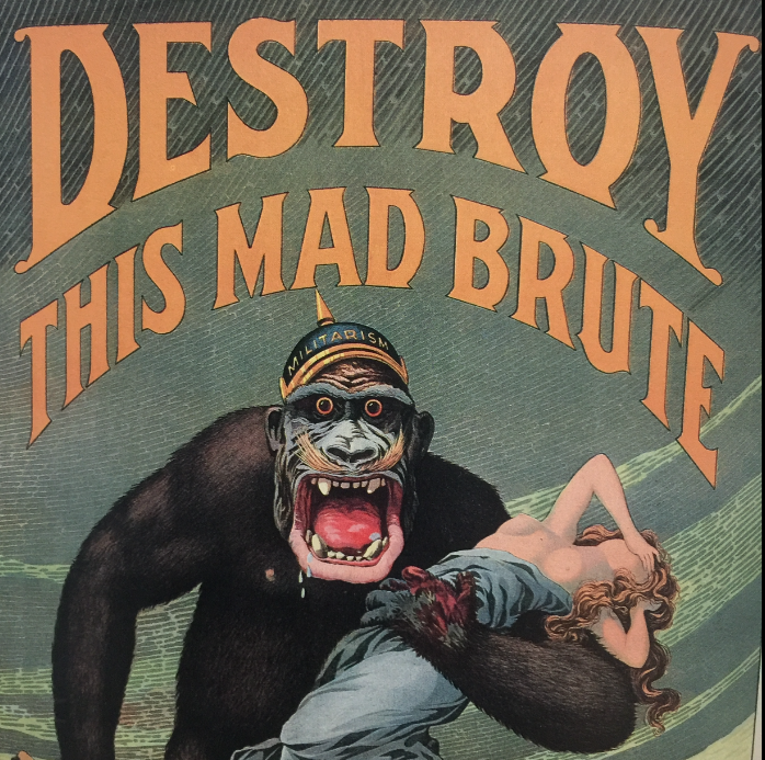 US WW1 war poster